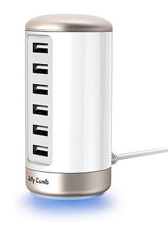 Jelly-Comb-Multi-USB-Wall-Charger
