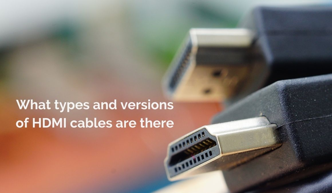 what types of hdmi are there
