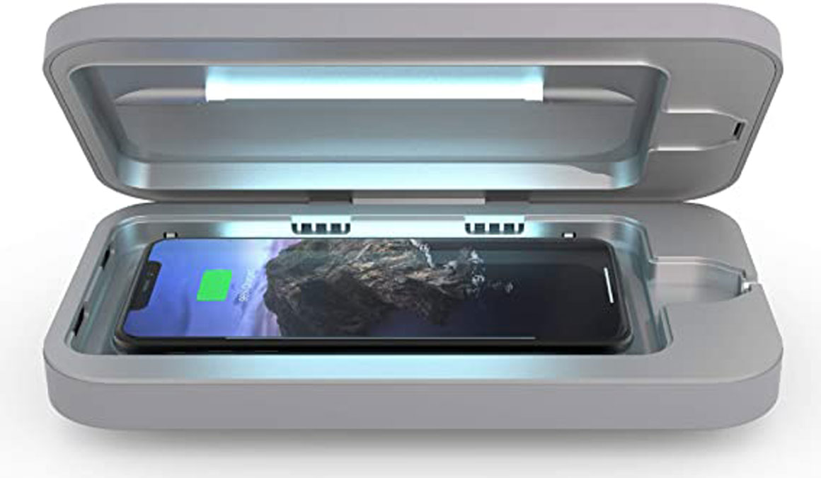 phonesoap wireless charger-sanitizer